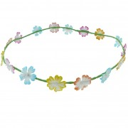 Multicoloured Daisy floral Headband
