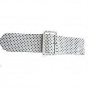 Vintage polka dot belt