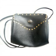 Black 1980's bag