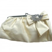 Vintage cream bag