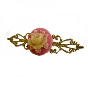 Mollie Fantasy Floral Blush Pink Ring