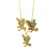 Kourtney Gold eagle necklace