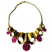Olivia Magenta Necklace