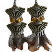 Reata statement earrings