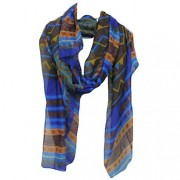 Kayah Blue scarf