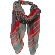 Kayah Red scarf