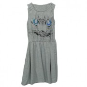 Anina Grey cat dress