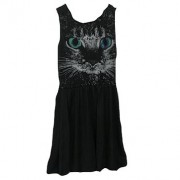 Anina Black cat dress