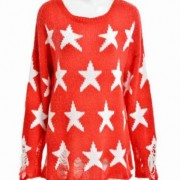 Star Red Jumper