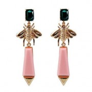 Statement insect earrings