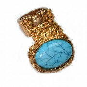 Statement Blue stone Ring
