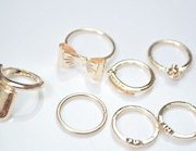 Chic Midi Rings set
