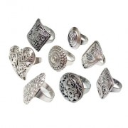 Silver Tribal Rings