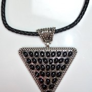 Kylie Triangle Necklace