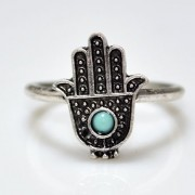 Hamsa Hand Ring