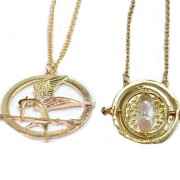 Gold Key Pieces Necklaces