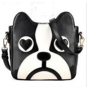 Monochrome pup Bag